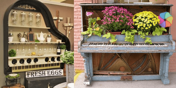 Imaginative uses for unloved pianos